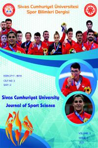 Sivas Cumhuriyet Üniversitesi Spor Bilimleri Dergisi