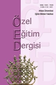 Ankara Üniversitesi Eğitim Bilimleri Fakültesi Özel Eğitim Dergisi