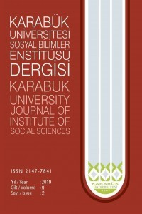 Karabük Üniversitesi Sosyal Bilimler Enstitüsü Dergisi