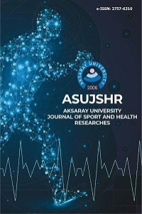 Aksaray University Journal of Sport and Health Researches