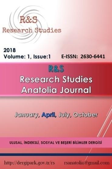 R&S - Research Studies Anatolia Journal