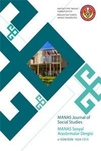 MANAS Sosyal Araştırmalar Dergisi